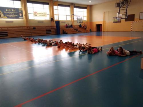 Trening małych PANTEREK - 07-05-2019r.