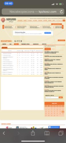 Turniej ligowy U11 - Bydgoszcz - 18-05-2019r.