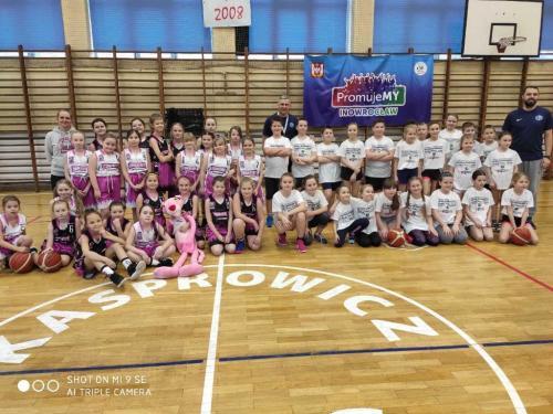 Sparing Różowe Pantery - SKS Kasprowicz Inowrocław 24-02-2020